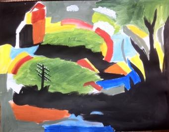 d'après Wassily Kandinsky