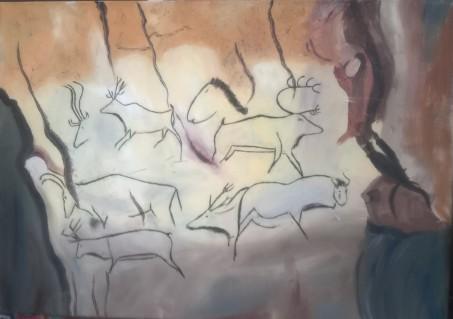 Grotte Chauvet 70x50